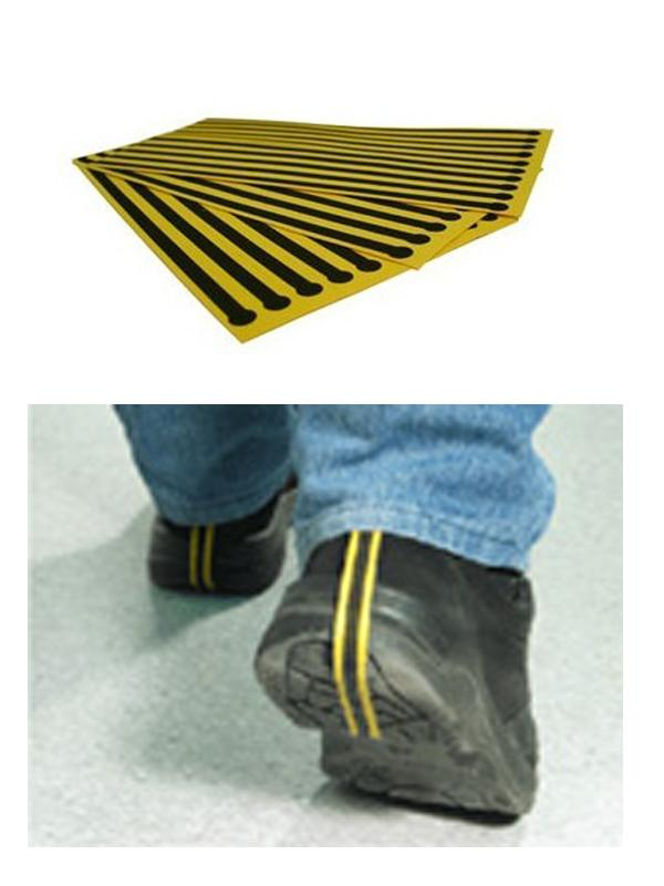 Condutive Clean Room Products ESD Disposable Heel Strap Nonwoven Heel Grounder