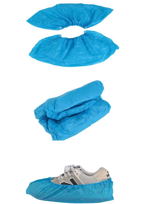 Non Woven Clean Room Products , Disposable Surgical Shoe Cover With High Protection