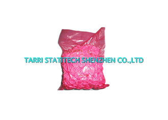 China Anti Static Pink ESD Finger Cots Finger Tips Textured 0.1mm Thickness 20mm Diameter supplier