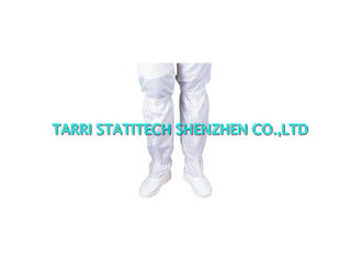 China Plain white ESD Shoes Anti Static Cleanroom Footwear With Hard Sole Permanent  ESD Properties supplier