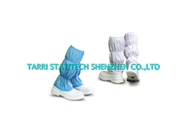 China Fabric ESD Shoes Anti Static Safety Boots 10^6 - 10^9 Surface Resistivity supplier