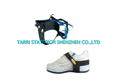 China Synthetic Rubber Unisex ESD Grounding Anti Static Heel Grounder Strap With Clip supplier