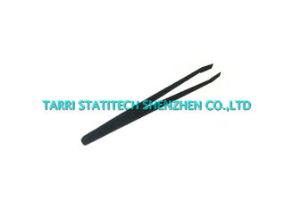China 93301 ESD Tweezers Anti Static Plastic Flat Tip Tweezer 115mm Length supplier