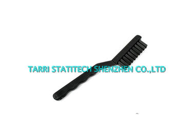 China Cranked Handle ESD Nylon Tooth Brush , Anti Static PCB Cleaning Brush supplier