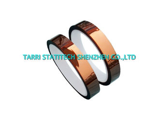 China Dark brown Anti Static Silicone Adhesive Tape ESD Polyimide Tapes Die Cutting supplier