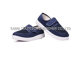 China Eco - friendly comfortable Unisex Anti Static Shoes With Velcro , absorb sweat / Dexterity supplier