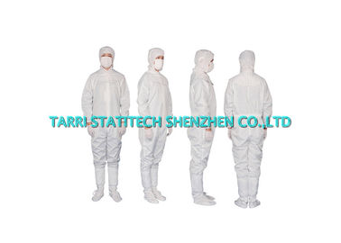 China Unisex ESD Clothing Polyester Anti Static Coverall Comfortable Jumpsuit distributor