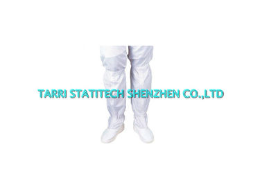 China Plain white ESD Shoes Anti Static Cleanroom Footwear With Hard Sole Permanent  ESD Properties distributor