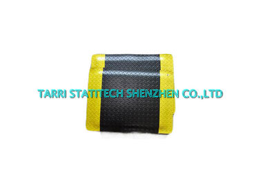 China PVC EVA ESD Floor Mat Anti Fatigue Matting Foam Flooring 15mm With Yellow Edge distributor