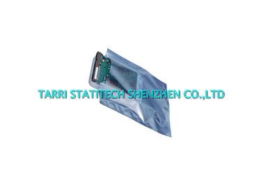 China Open Top Anti Static Bag ESD Shielding Bags 3 Edges Sealed 0.075mm Thickness distributor
