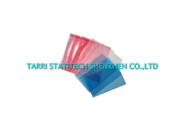 China Blue Pink Anti Static Bags ESD Static Dissipative Bag LDPE LLDPE Blow Molded distributor