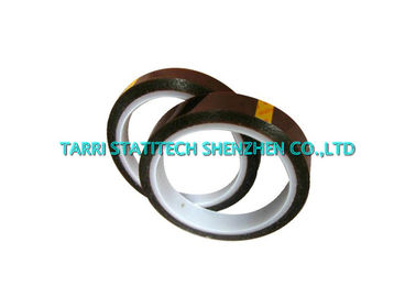 China 33m 0.03mm - 0.125mm Anti Static Tape ESD Kapton Tapes Single Side High Temperature Resistance distributor