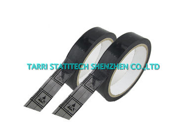China Conductive Adhesive Anti Static Tape Opp Film ESD Grid Tape For Packing distributor