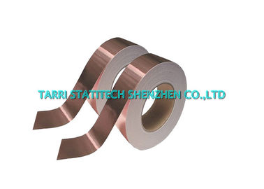 China ESD Condutive Copper Foil Adhesive Tape 50m For Anti Static Floor Tile distributor