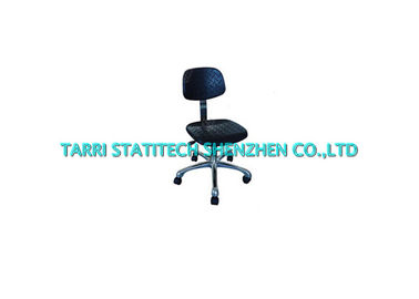 China Durable Black Conductive ESD Chairs PU Foam Anti Static Cleanroom Chair distributor