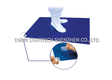 China Blue Green White Clean Room Sticky Mat , Clean Room Tacky Mat For Removing Dust distributor